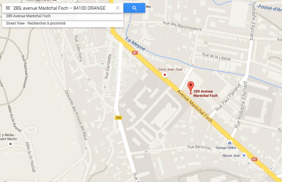 Google Map NG VINS